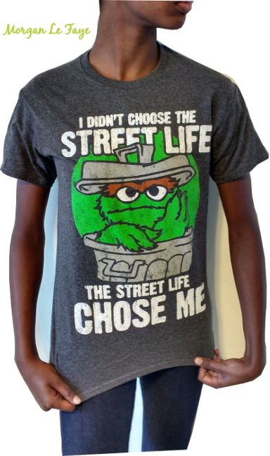 Sesame Street - Oscar the Grouch T Shirt Street Life