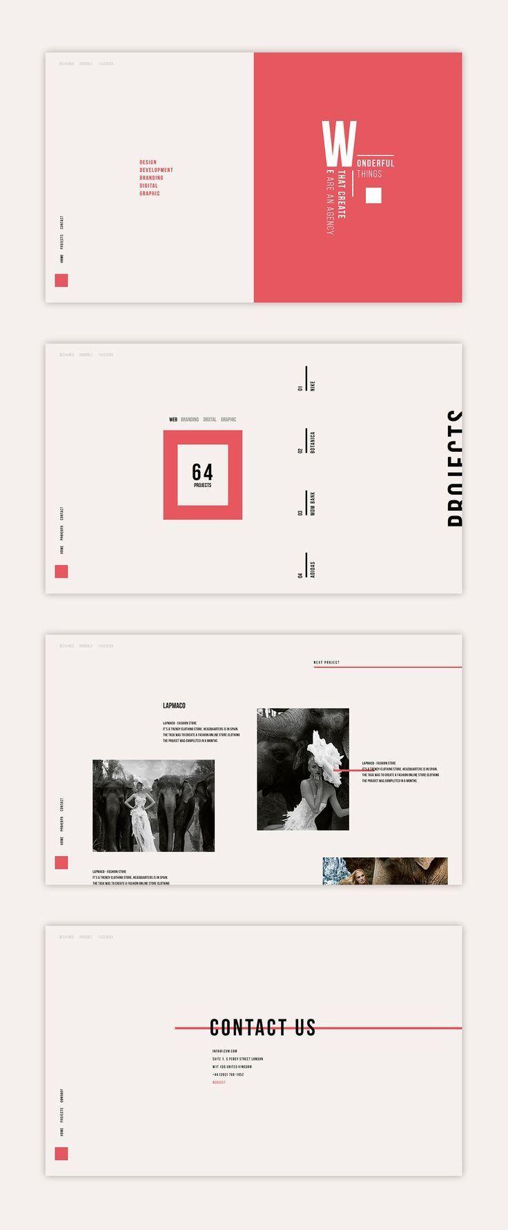 Simple PPT design inspiration