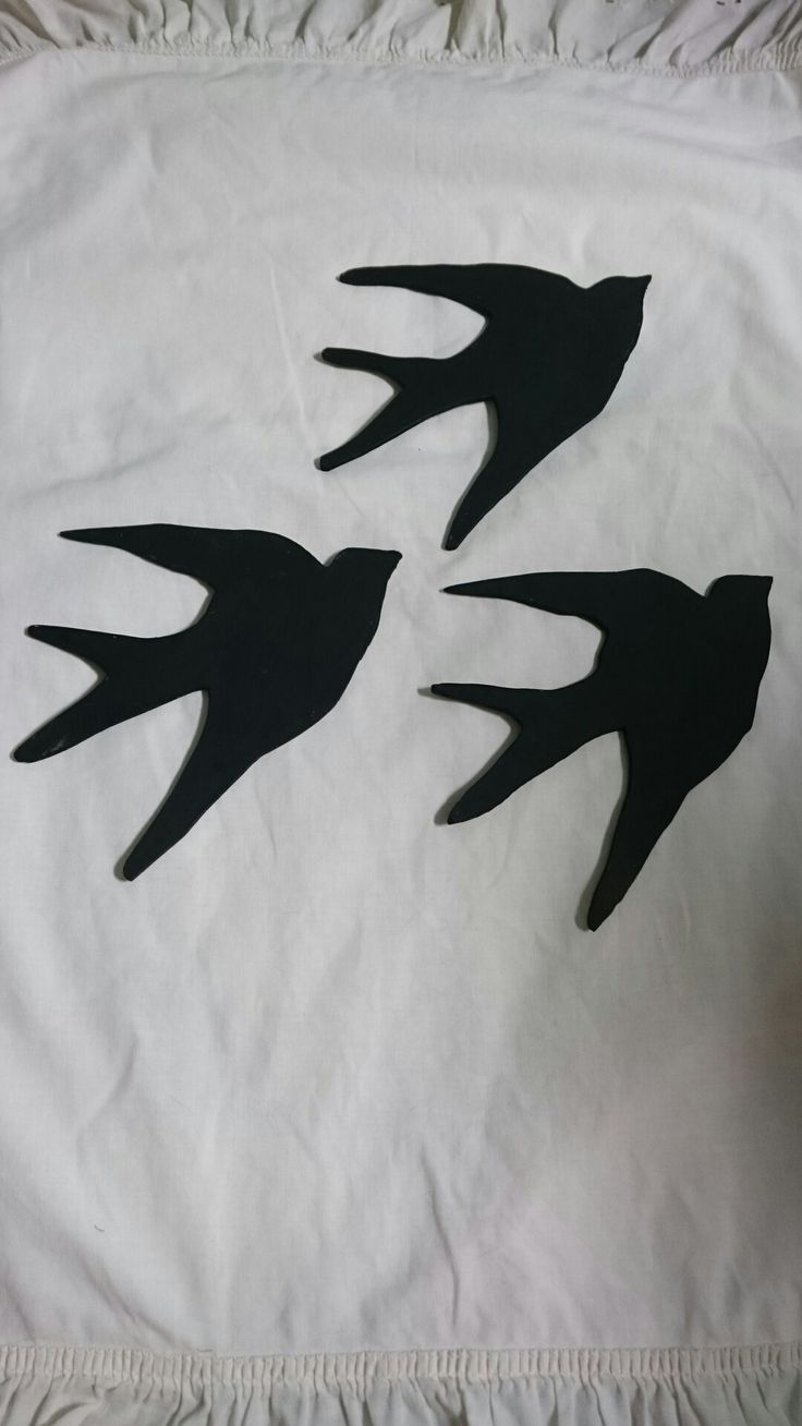 Plywood birds