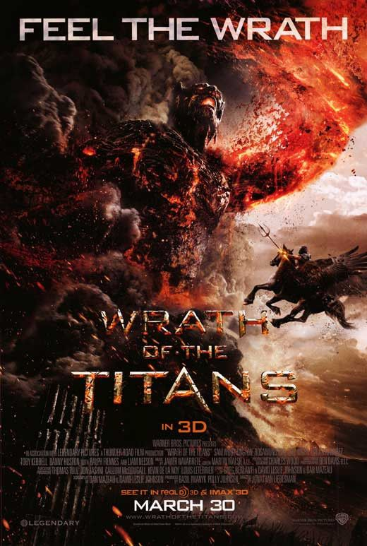 Wrath of the Titans 27x40 Movie Poster (2012)