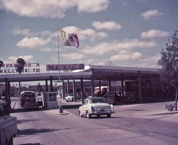 1963 Brownsville Texas - US/ Mexico Border Crossing