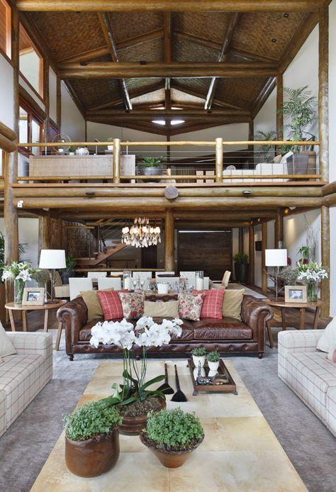 Uma megacasa no alto da montanha - Casa Vogue | Interiores