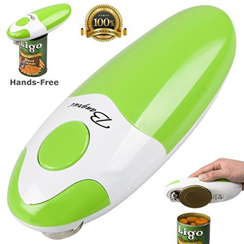 bangrui handsfree fast and secure smooth edge automatic electric can opener green
