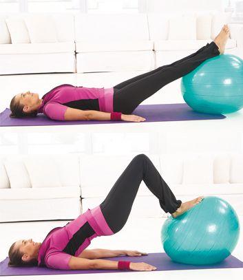 Pont avec ballon for Housse ballon yoga