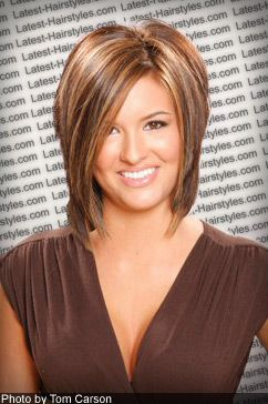 I like this hair cut..... if I ever grow my hair out again..... which is unlikely.   Pretty color though so maybe I'll try that instead :)