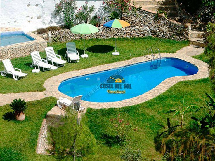 Casa Rural en una aldea de Frigiliana con piscina climatizada - 1