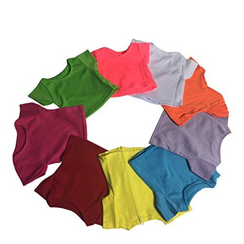Short Sleeve T-Shirt Solid Colors Set of 9 - Hot Pink, Wh... https://www.amazon.com/dp/B01M98LS7R/ref=cm_sw_r_pi_dp_x_zCdUyb71TDHHD