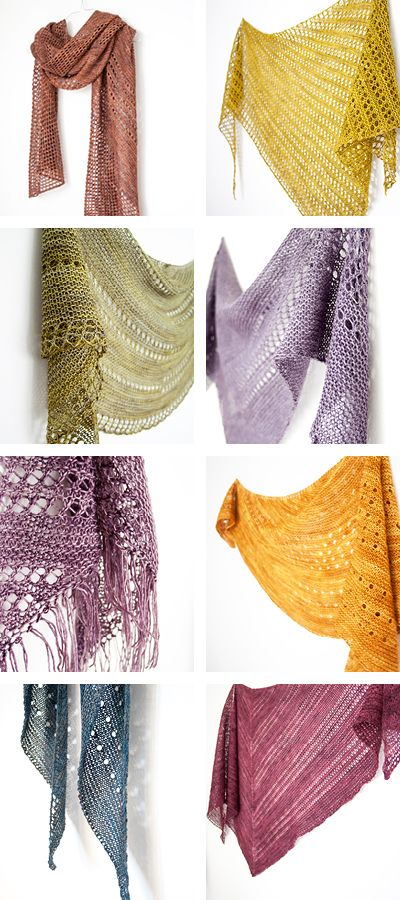 Simple knitting with gorgeous results // Janina Kallio Design