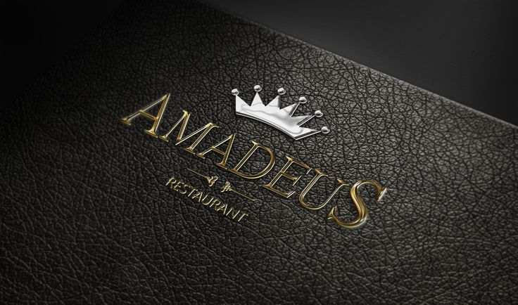Client: Amadeus Restaurant Media Type: Logo Applications: InDesign - Photoshop - Illustrator  Approach: Commercial
