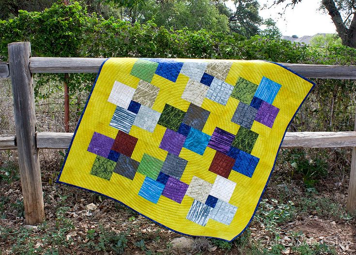 Square peg in a round hole quilt pattern   Sewn Up