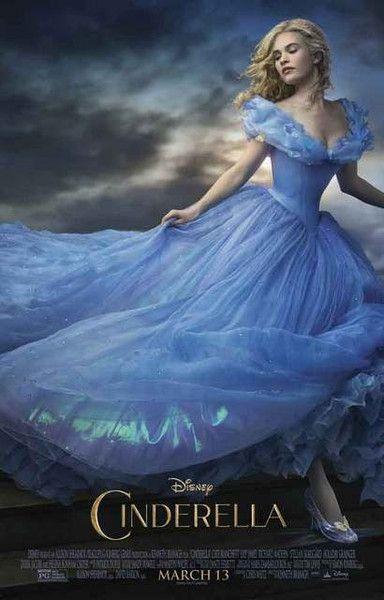 Cinderella Live-Action Disney Movie Poster 11x17 – BananaRoad