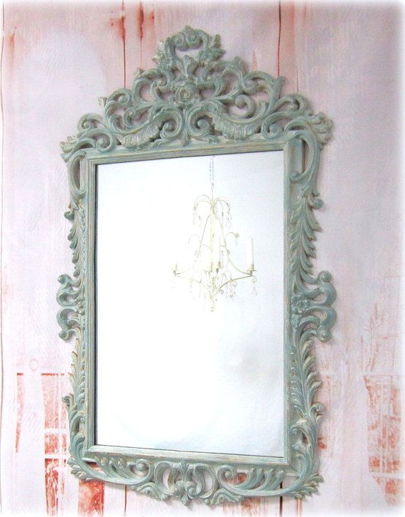 Decorative vintage mirrors for sale oval mirror shabby for Fancy mirrors for sale