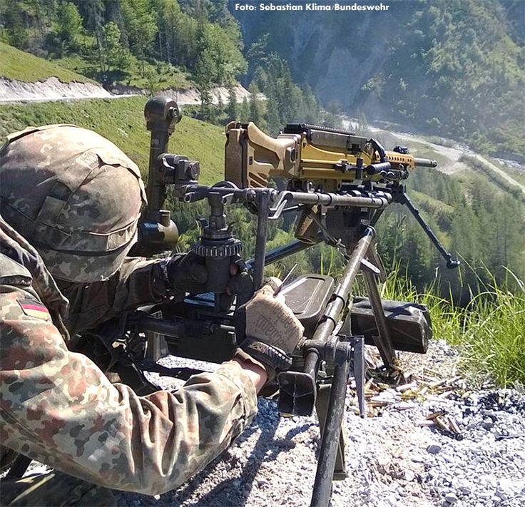 """Im Rahmen des Projekts """"Neue Maschinengewehre"""" wurde als Nachfolger für das MG3 das mittlere Maschinengewehr MG5 von Heckler & Koch (im Bild) gewählt."""