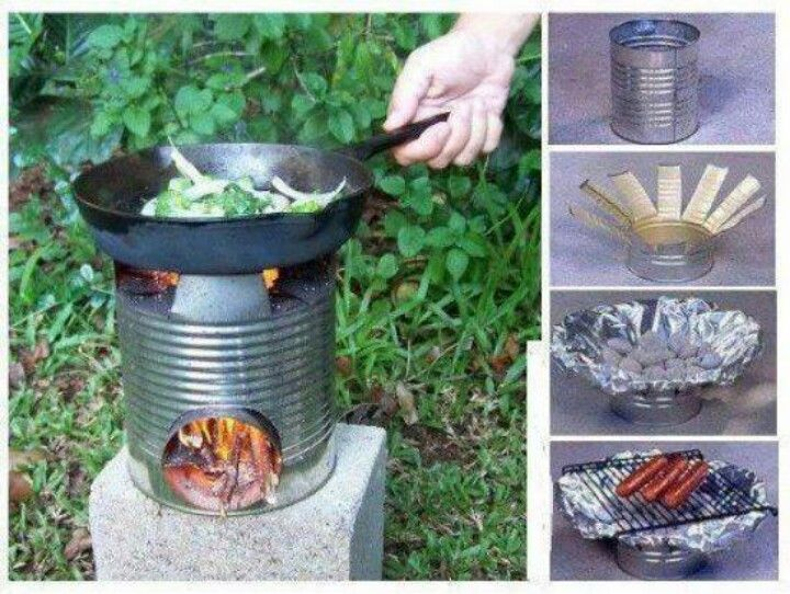 diy camping stove diy projects pinterest stove