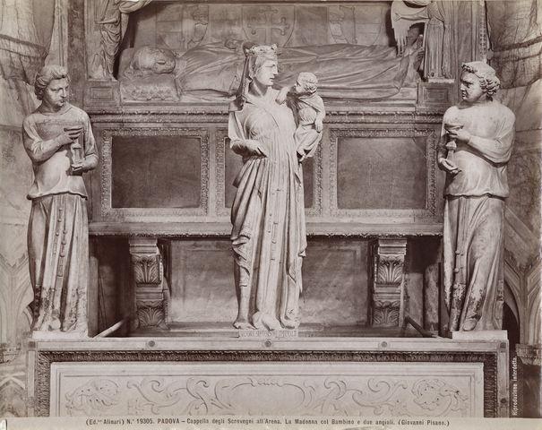 Giovanni Pisano, gruppo scultore Cappella degli Scrovegni