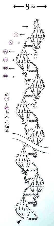 ::ArtManuais- Tecnicas de Artesanato em crochê ***** CLICK LINK UNDER PHOTO TO DISPLAY GRAPHED PATTERN *****