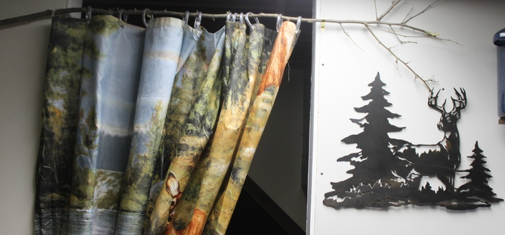 Bass Fishing Curtain: 17 Best Images About My Bathroom Makeover On Pinterest