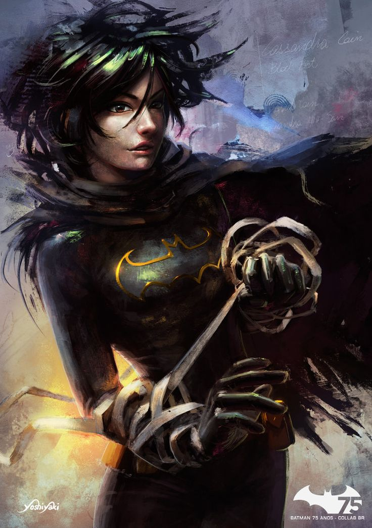 Black Bat . Cassandra Cain by yoshiyaki on DeviantArt