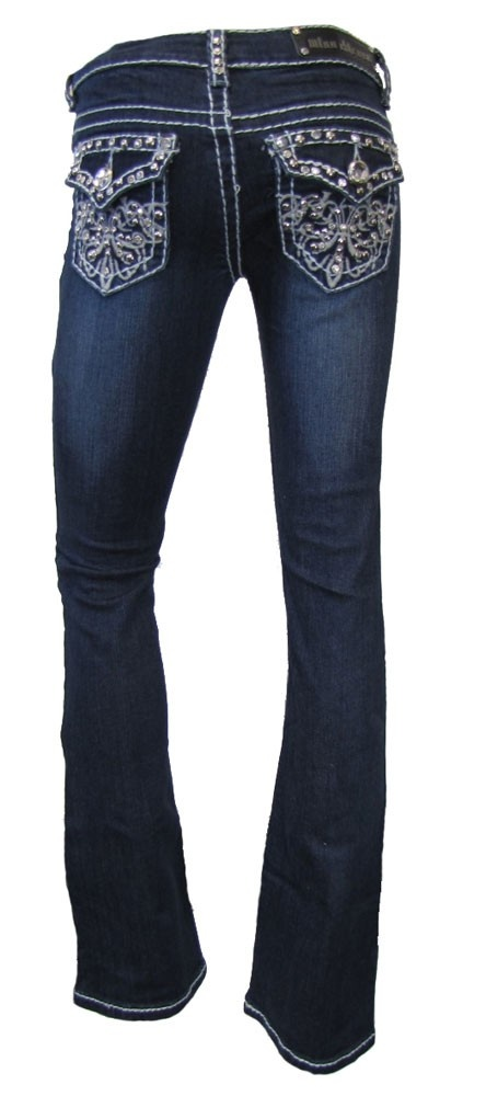 Slim Fit Bootcut Jeans Mens