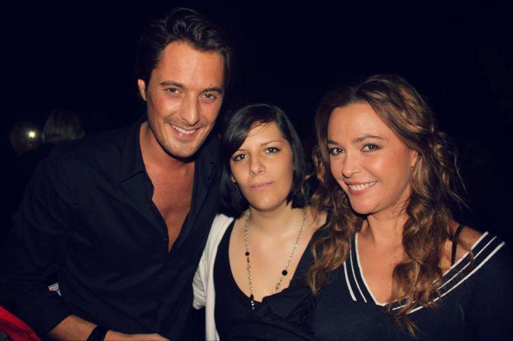 Vincent Cerutti et Sandrine Quetier