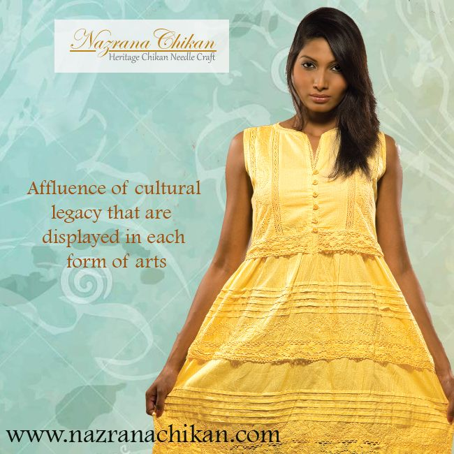 Ethnic attires with a modern touch.... #NazranaChikan #Chikankari #Lucknow #Culture #Traditions