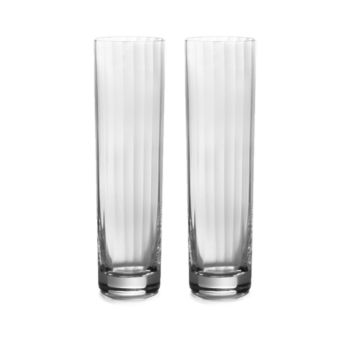 William Yeoward American Bar Corinne Tall Cocktail Tumblers, Set of 2 – Clear