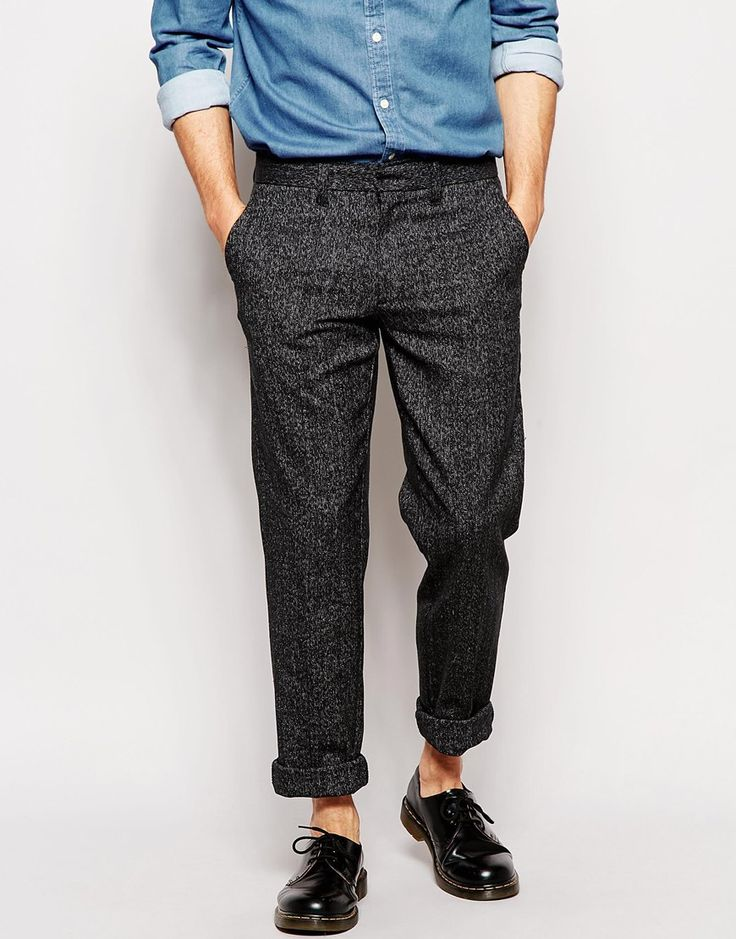 Farah Trousers with Fleck Slim Fit