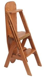 Bachelor's chair (ironing board/step stool/chair). $250 with a cover. Ouch! But cool!  Made in the USA!