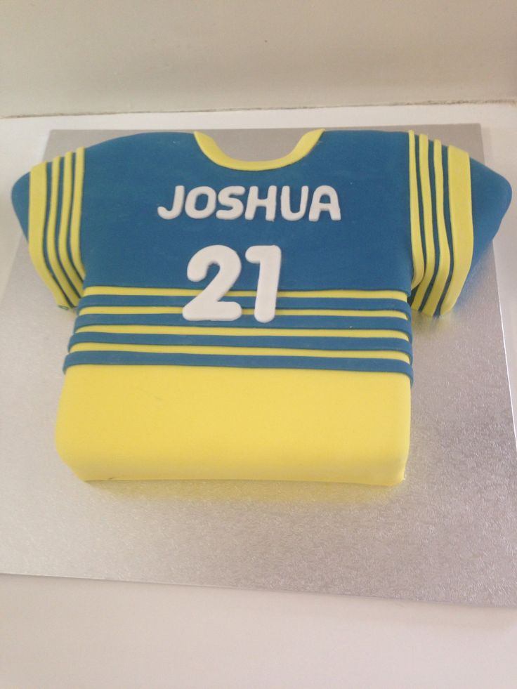 Parramatta Eels Nrl Football Jersey Cake My Cakes