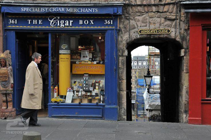 The Cigar Box on the Royal Mile photo | 23 Photos Of Edinburgh