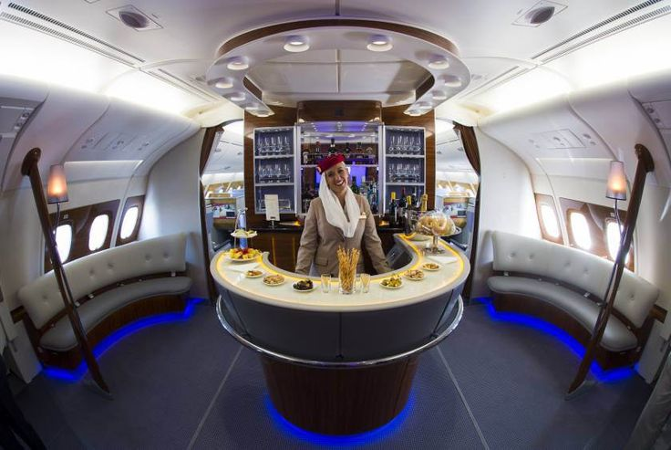 emirates airline - first class