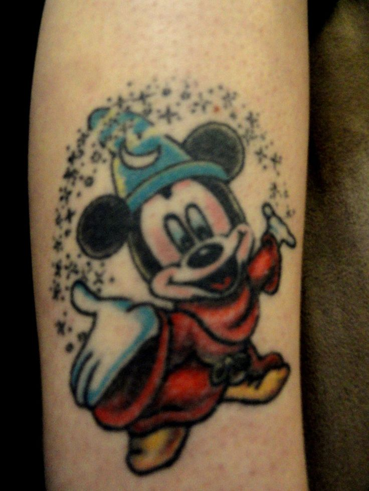 Mickey Mouse-Fantasia Tattoo by Allen92909