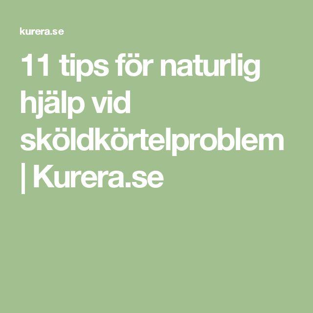 11 tips för naturlig hjälp vid sköldkörtelproblem | Kurera.se