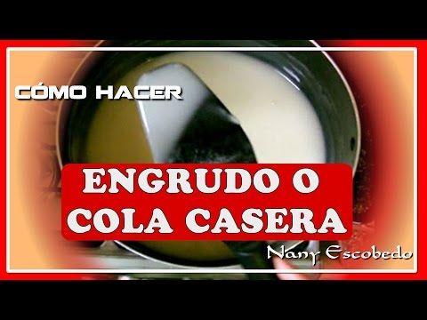 Pegamento casero especial cartapesta - SPECIAL HOMEMADE GLUE FOR CARTAPESTA - YouTube