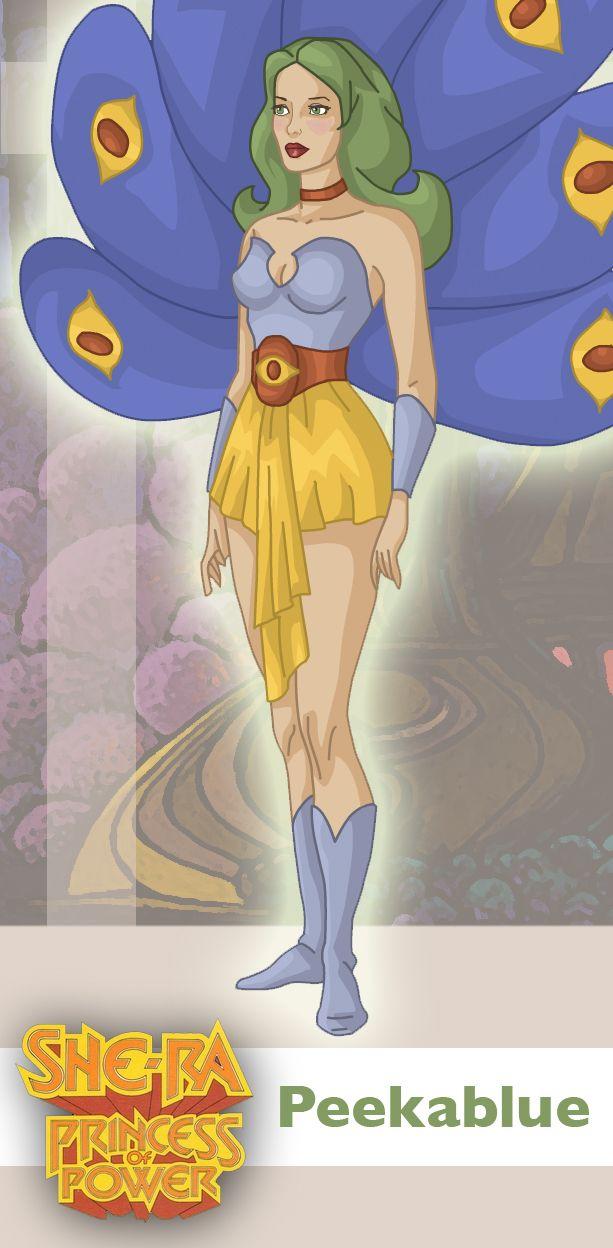 Princess of Power: Peekablue by ~davidgozu on deviantART