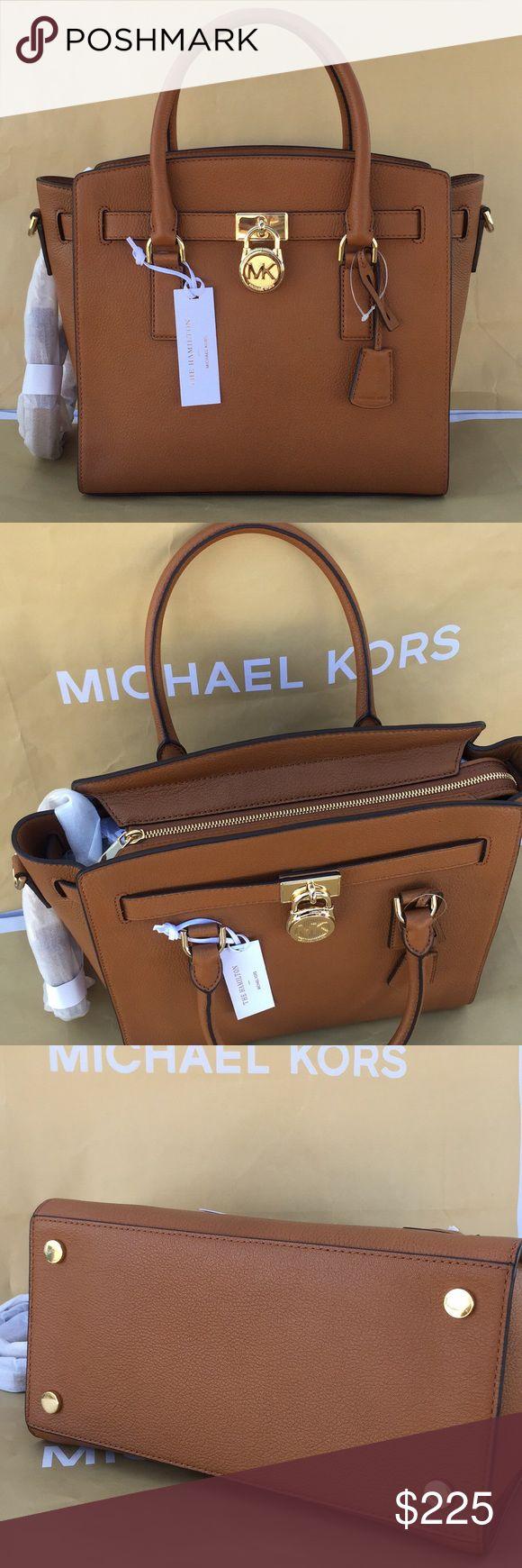 🌹🌸Michael kors Hamilton satchel large🌹 100% Authentic Brandnew Michael Kors Hamilton satchel in brown 🌹 Michael Kors Bags Satchels