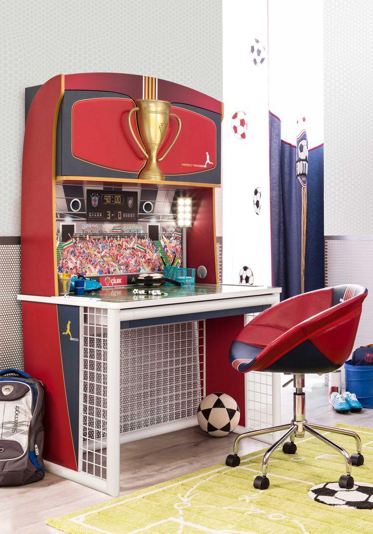 Cilek Football Schreibtisch mit Aufsatz