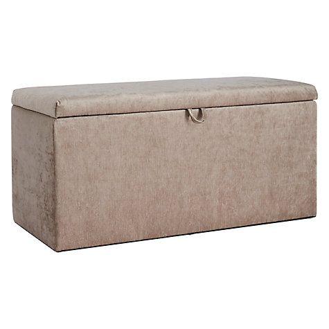 Buy John Lewis Emily Ottoman Blanket Box Online at johnlewis.com