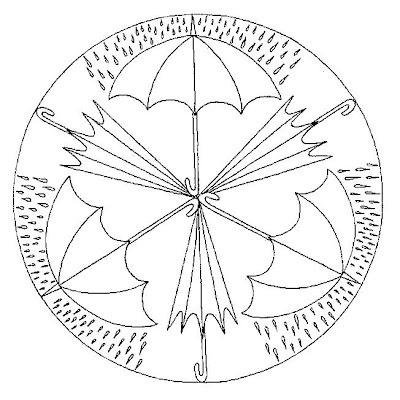 Mandala pluja