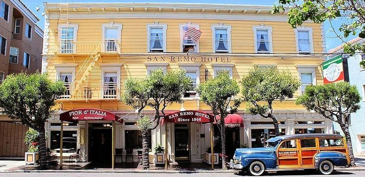 Hotel Review – San Remo Hotel, San Francisco, USA