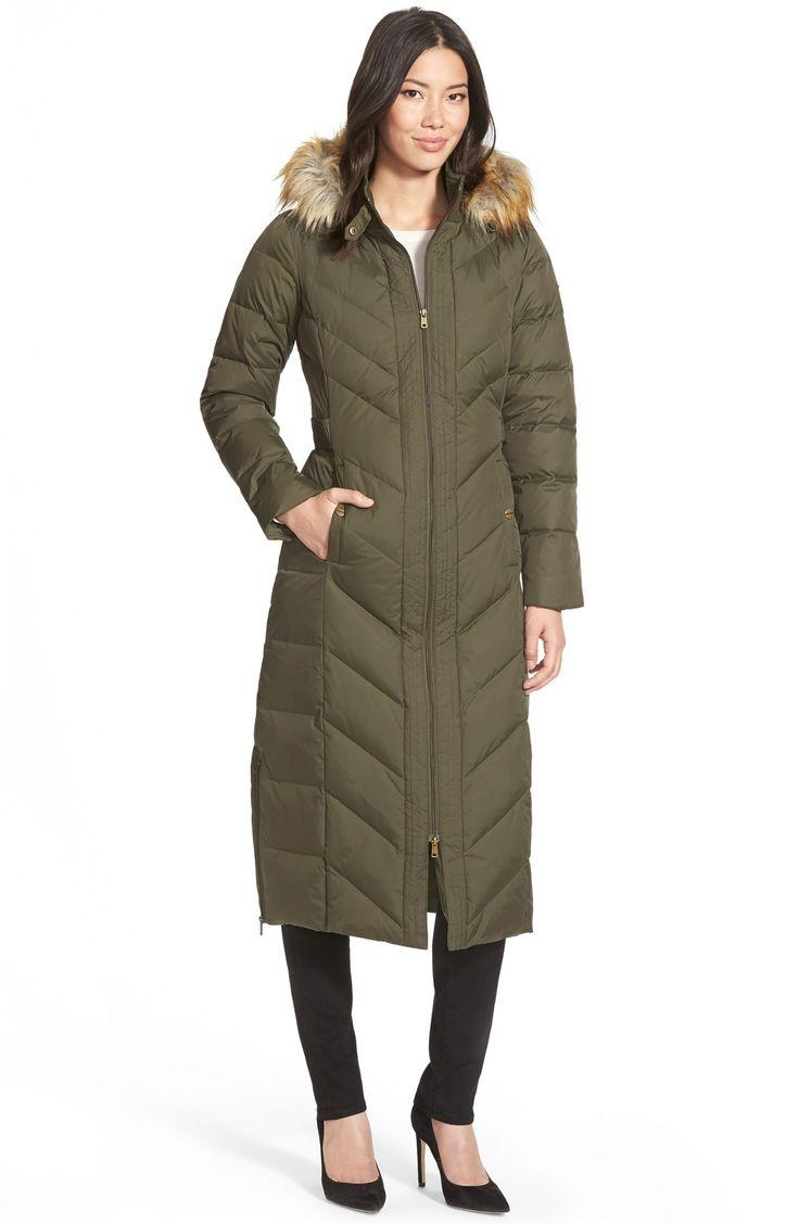 Feather Down Ladies Coats Coat Racks