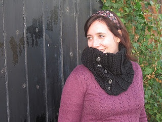 All Buttoned Up Cowl