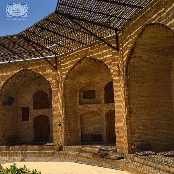 Wendell Rodricks turned back time at the 400-year-old Zeinodin Caravanserai, one of the many rest stops along the ancient Silk Route to Yazd. #ExploreFourCorners