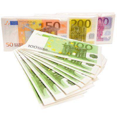 Servetten euro 10 st