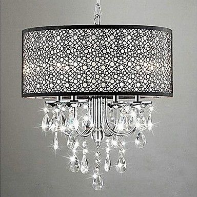 MAX:60W Traditional/Classic Crystal Chrome Metal Chandeliers Bedroom / Dining Room / Study Room/Office / Hallway 2016 - $197.99