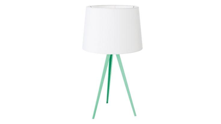 Oslo Table Lamp - Mint   Domayne