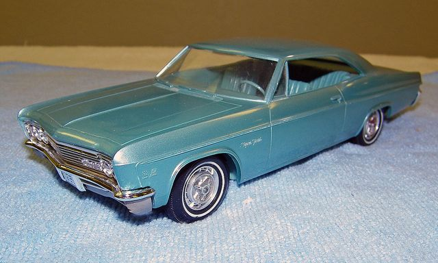 1966 chevrolet impala super sport hardtop promo model car. Black Bedroom Furniture Sets. Home Design Ideas