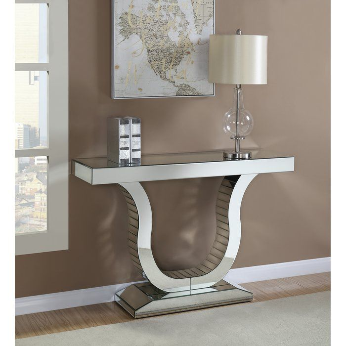 Potterville 50 5 Console Table Contemporary Console Table Modern Console Tables Silver Console Table
