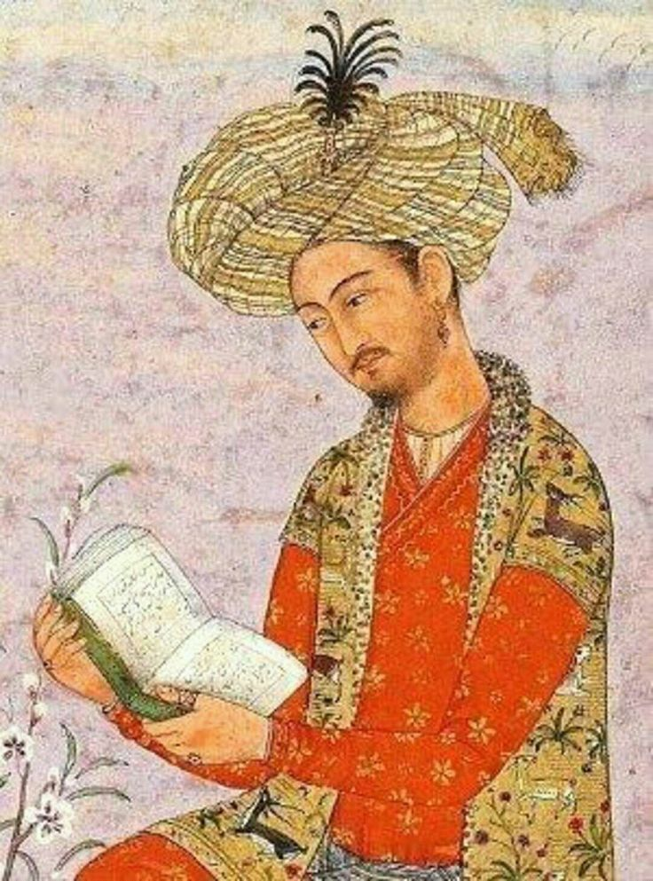 First Mughal emperor of India 1526-30 wins first Panipat battle against Ibrahim Lodi and ended Lodi Dynasty on throne of Delhi. .