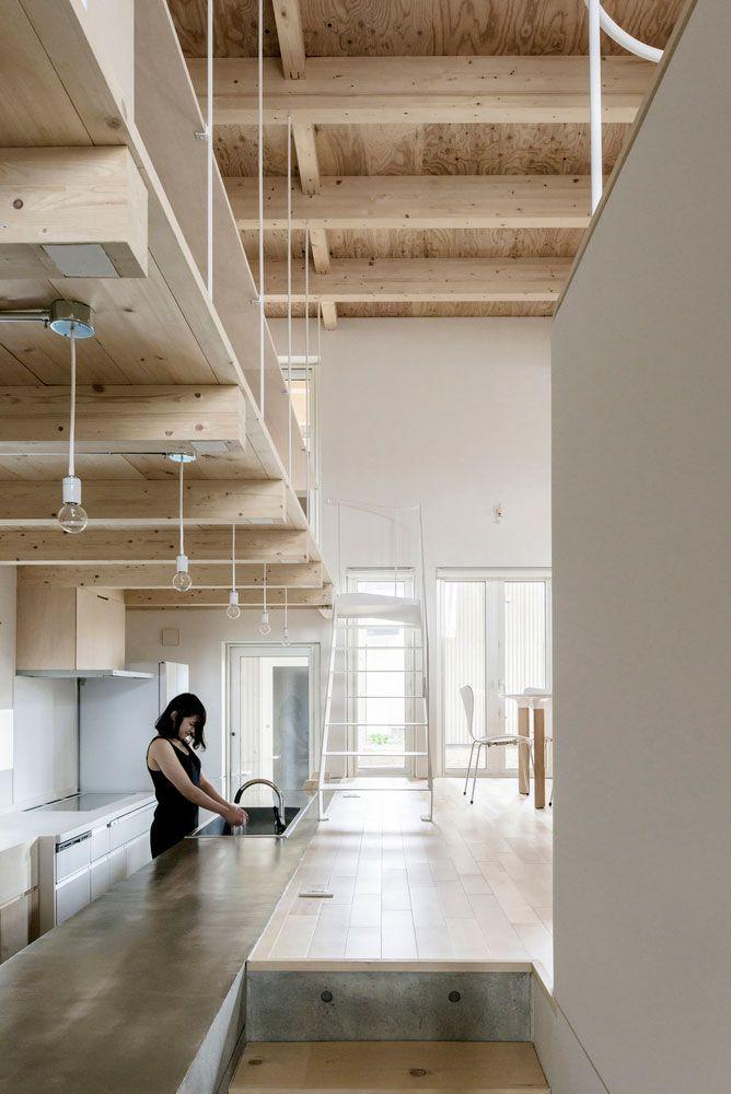 Wooden House Designed by Jun Igarashi Architects